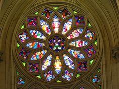 Roseton de la Catedral de La Plata
