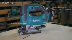 Makita DJV191 and DJV182 Brushless Jigsaws - Why Upgrade Now  Read more: http://www.toolstop.co.uk/makita-djv191-and-djv182-brushless-jigsaws-why-upgrade-now-a1425
