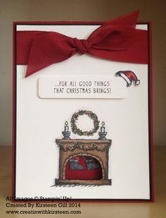 Santa Slider Card /Gift Card Holder