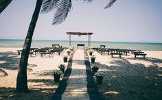 Casamento na praia. #ChuvaDeArrozPT
