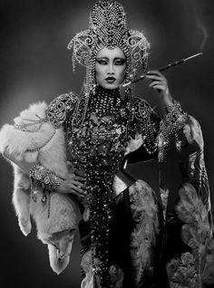 Dark, refined, weird, tacky themes and of course porn. Opium Den, Female Dragon, Dragon Lady, Old Photography, Ppr, Vintage Glamour, White Art, Vintage Photographs, Fashion Shoot
