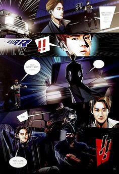 Exo the power of music full comic Kpop Exo, Suho Exo, Exo Kai, Kaisoo, Pretty Boy Comic, Exo 2014, Exo Anime, Exo Fan Art, Exo Lockscreen