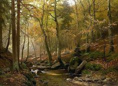 Heinrich Bohmer (1852-1930) Художник, пейзаж