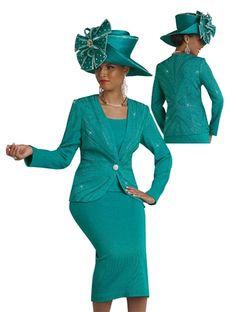 Women's Church Suits That Turn Heads! on Pinterest | Church Suits ...