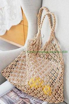 Stylish Trendy Handbags Ideas for 2020 Big Bags, Small Bags, Trending Handbags, Latest Fashion Design, Stylish Handbags, Knitted Bags, Fishnet, Leather Handbags, Vintage Ladies