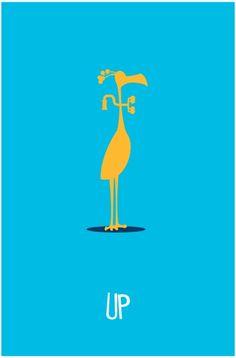 Up - minimal movie poster