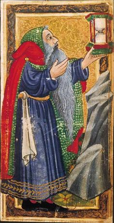 The Charles VI Tarot, The Hermit