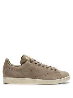 ADIDAS ORIGINALS Stan Smith low-top suede trainers. #adidasoriginals #shoes #sneakers
