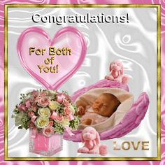 65 Ideas Baby Girl Congratulations Islamic For 2020 New Baby Girl Wishes, New Baby Girls, Baby Girl Newborn, Baby Girl Congratulations Message, Islamic Birthday Wishes, Baby Born Quotes, New Baby Greetings, Baby Coming Home Outfit, Baby Boy Cards