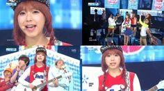 "Juniels looking for a ""Pretty Boy"" on 'Inkigayo'!"