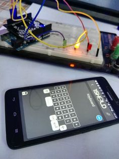 Now you can control your light system in your home using your smart phone by writing a character the LED turn on or turn off. By Ahmed Yassin. Home Automation System, Smart Home Automation, Lighting Control System, House Blinds, Cheap Pendant Lights, Arduino Projects, Home Gadgets, Environmental Design, Home Projects