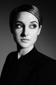 Shailene Woodley, photographed by David Needleman for The Hollywood Reporter, Nov 22, 2013.