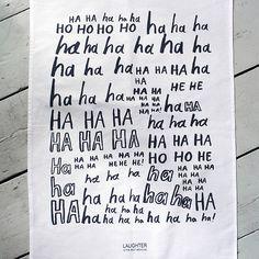 Laughter Is The Best Medicine Tea Towel