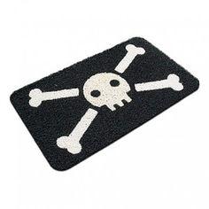 Felpudo Calavera Pirata / Jolly Roger Pirate Doormat · Tienda de Regalos originales UniversOriginal Jolly Roger, Office Decor, Kids Rugs, Toys, Fun, How To Make, Gifts, Doormat, Home Decor