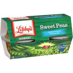 Libby's Sweet Peas, 4 oz, 4 count