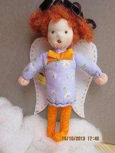 Nanette our sweet singing pocket Angel OOAK by Kinderfreude