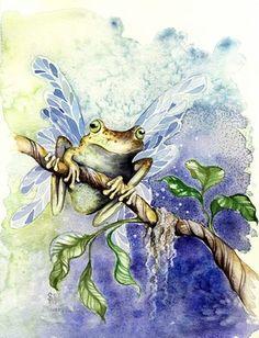 sarah pauline Frog Faery fairy
