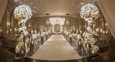 "2015 High Style Weddings   ""Runway"" Aisle Treatments - Crafted by Kehoe DesignsCrafted by Kehoe Designs"