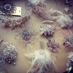 Koda Bridal, a bridal boutique located in Pittsburgh, Pa, offers a stunning collection of hair accessories for the bride.