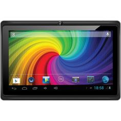Micromax Funbook P280 Tablet with Leather Case and Keyboard (4GB, WiFi, 3G via Dongle), Grey
