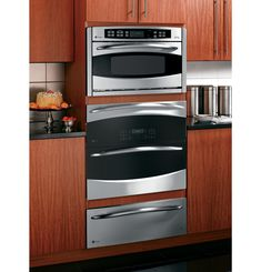 """GE Profile™ 30"""" Built-In Single/Double Convection Wall Oven 