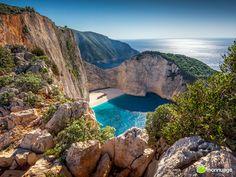 Grécia-Praia do Naufrágio_ Les 10 des plus belles plages du monde