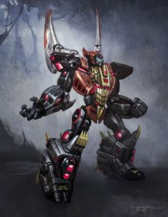 Fall of Cybertron – Dinobot Concept Art You Have To See