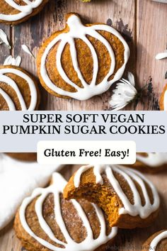 Vegan Pumpkin Sugar Cookies - The Banana Diaries