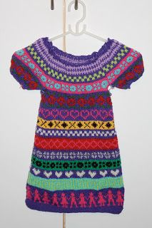 Súnadóttir: Yndig strikket kjole