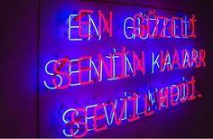 """""""İnsanı en çok acıtan şey hayal kırıklıkları değil, yaşanması mümkünken yaşayamadığı mutluluklardır."""" - Dostoyevski    //  1858 Light Quotes, Neon Lighting, Karma, Neon Signs, Mood"""