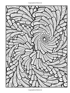 Amazon Creative Haven Insanely Intricate Phenomenal Fractals Coloring Book Adult
