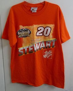 Daytona 500 50 Years Tony Stewart 20 NASCAR T-Shirt Adult M Medium