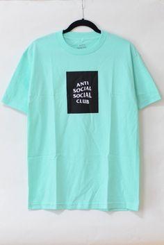 ANTI SOCIAL SOCIAL CLUB THE CLUB TEE SEAFOAM 8,200円(内税)