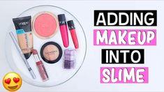 Nim C, Too Much Makeup, Slime, Sephora, Blush, Eyeshadow, Ads, Youtube, Eye Shadow