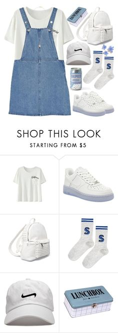 """""""Back to school"""" by evil-maknae ❤ liked on Polyvore featuring Monki, NIKE, 7 Chi, Topshop, House Doctor, Givenchy, BackToSchool, koreanstyle and polyvorecontest"""