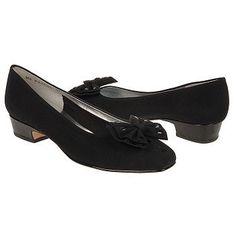 Ros Hommerson Dante Shoes (Black Micro/Patent) - Women's Shoes - 10.0 W