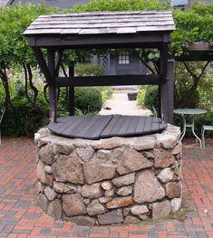 brick wishing wells - Google Search