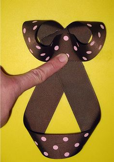 Learn to make every kind of bow out there...might have already pinned this. But just incase..