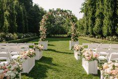 Beautiful outdoor wedding at Graydon Hall Manor
