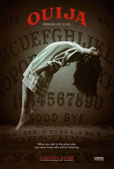#Ouija #OriginofEvil - didn't really like it.. Doesn't end well for any of the characters.. (-_-)