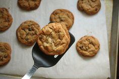 brown butter chocolate chip cookies....yum! by annalisesandberg, via Flickr