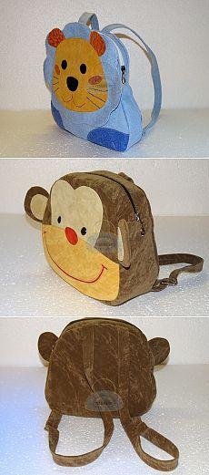 Детский рюкзак обезьянкаШьем сумки Легко и Просто! | Шьем сумки своими руками.