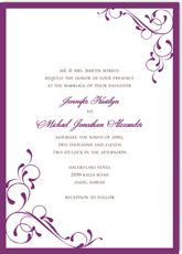 The days of tacky homemade wedding invitations are long gone! In their place are classic and elegant design choices of over 200 DIY wedding invitation templates. Print your own wedding invitations with ease and save hundreds. Make Your Own Wedding Invitations, Homemade Wedding Invitations, Free Wedding Invitation Templates, Black And White Wedding Invitations, Printable Wedding Invitations, Wedding Invitation Wording, Invitation Ideas, Red Bouquet Wedding, Green Wedding