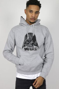Retrouvez ce sweat sur http://realnswag.fr   #hoodie #wars #grey #urbanstyle #rns #streetwear