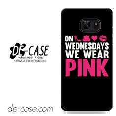 Pink On Wednesday DEAL-8702 Samsung Phonecase Cover For Samsung Galaxy Note 7