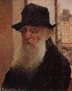 Self Portrait - Camille Pissarro   1903