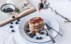 Dead Easy Vegan Pancakes – Culinary Cartel Vegan Pancakes, Tiramisu, Sweets, Breakfast, Ethnic Recipes, Easy, Food, Morning Coffee, Gummi Candy