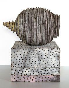 black and white - sculpture - Judit Varga Ceramics® 2016