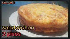 Sandwinchon (olla GM E) Baked Potato, Hamburger, Bread, Baking, Ethnic Recipes, Food, Youtube, Casserole Recipes, Food Processor