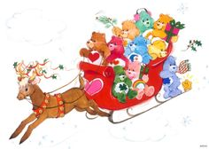 Care Bears at Christmas